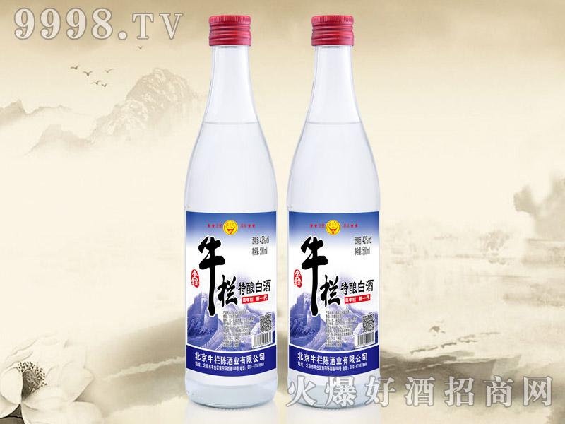 鑫牛栏特酿白酒500ml