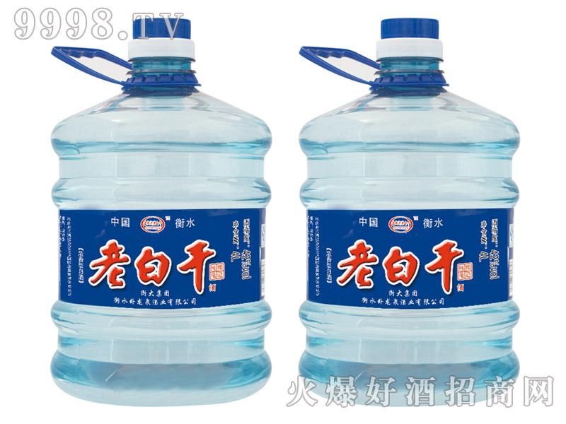 鑫阳河老白干酒蓝桶浓香型42°4L×4