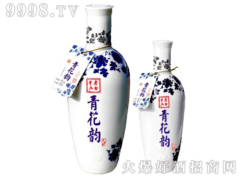 鑫阳河老白干酒大小青花韵浓香型42°500ml×8 500ml×18