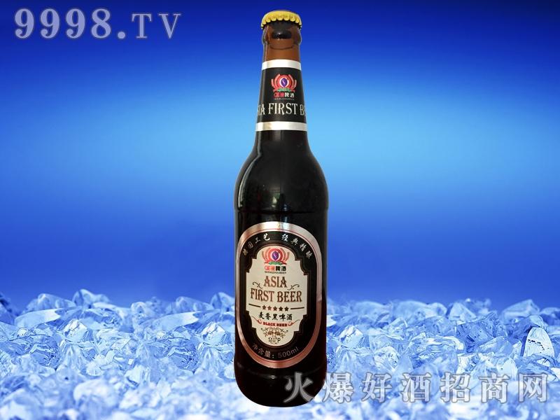 圣洲麦香黑啤酒