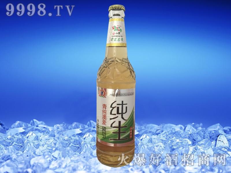 圣洲青纯生啤酒