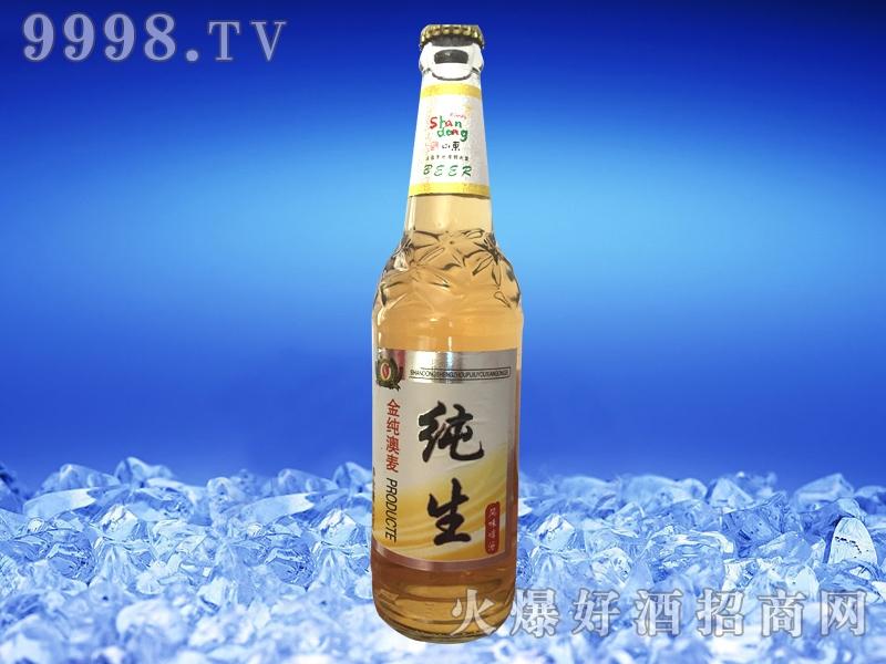 圣洲黄纯生啤酒