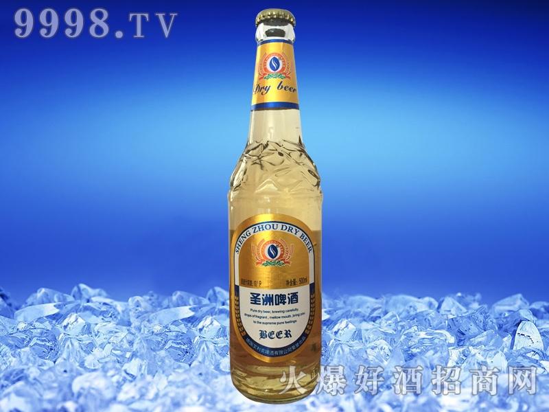圣洲干啤酒黄