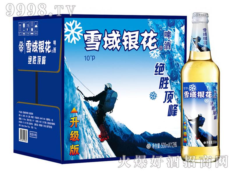 雪域银花绝胜顶峰啤酒500ml*12瓶