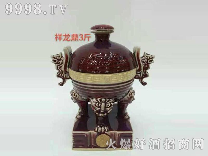古酒坛装系列・祥龙鼎3斤