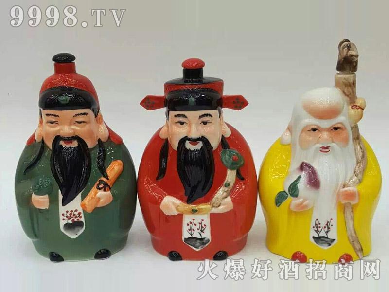 古酒坛装系列·福禄寿