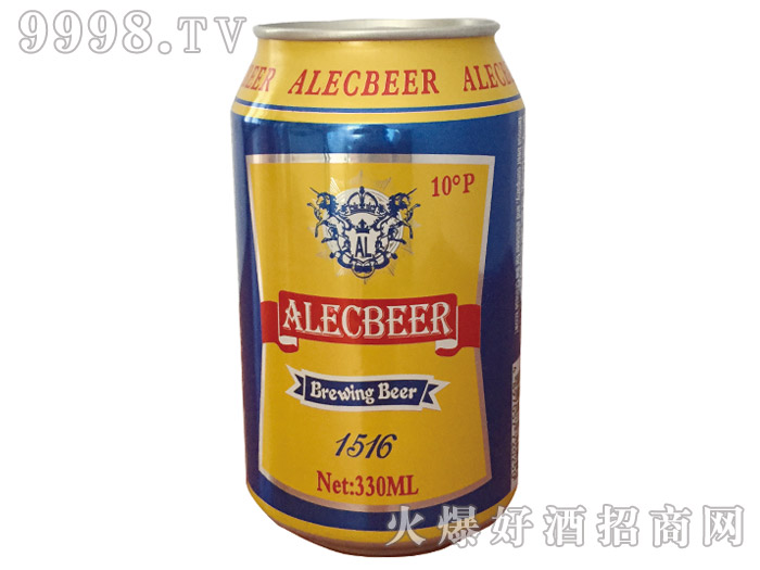 艾利克黄啤10°易拉罐装
