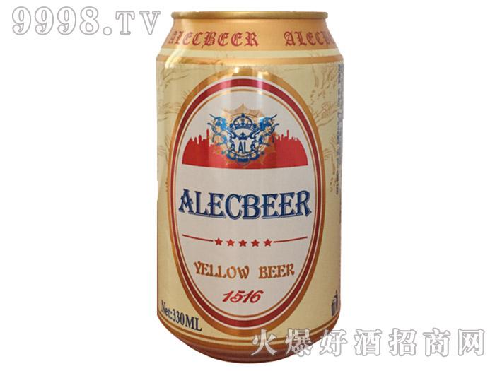 艾利克白啤1516易拉罐装