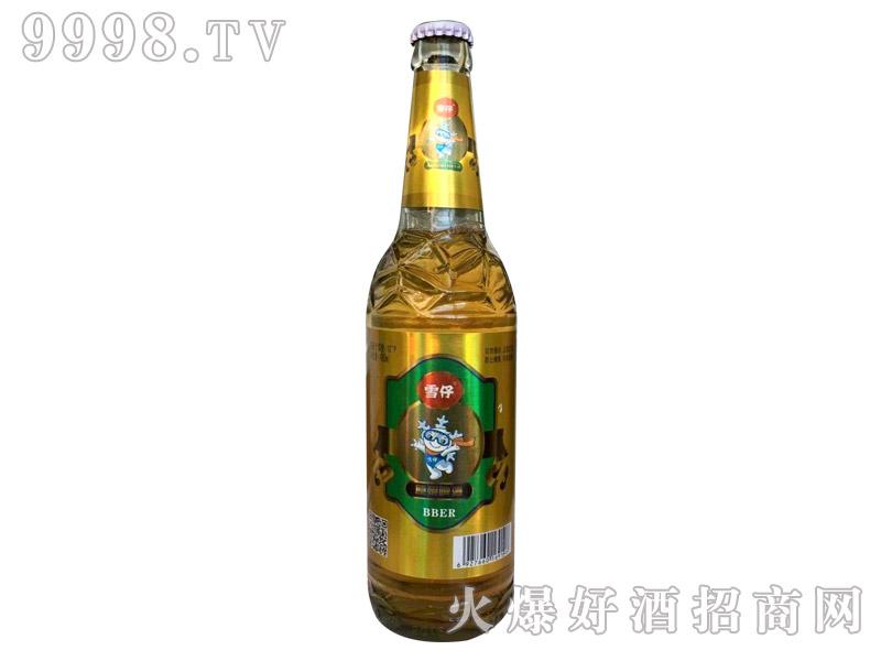 雪仔原浆啤酒480ml