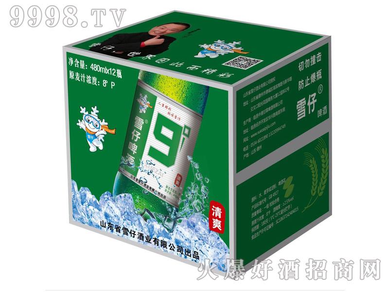 雪仔9度啤酒480ml(箱)
