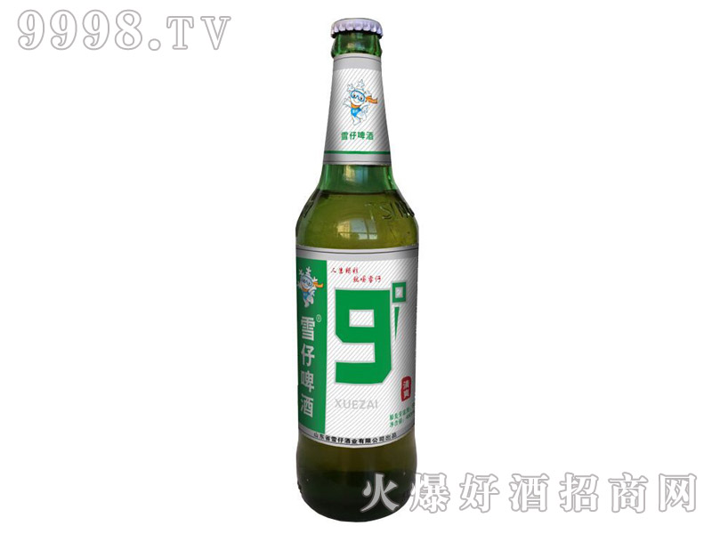 雪仔9度啤酒480ml