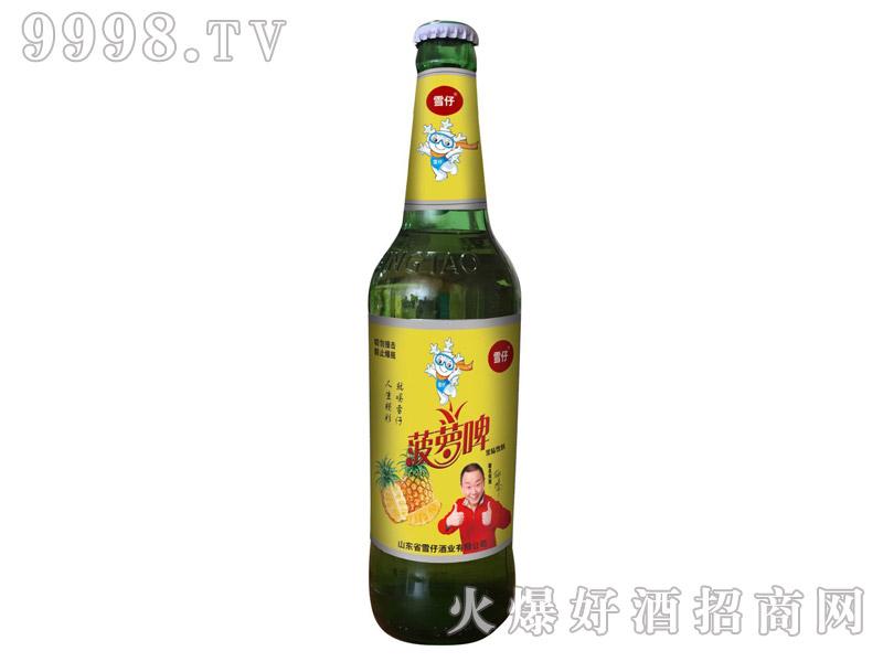 雪仔菠萝啤480ml(绿瓶)