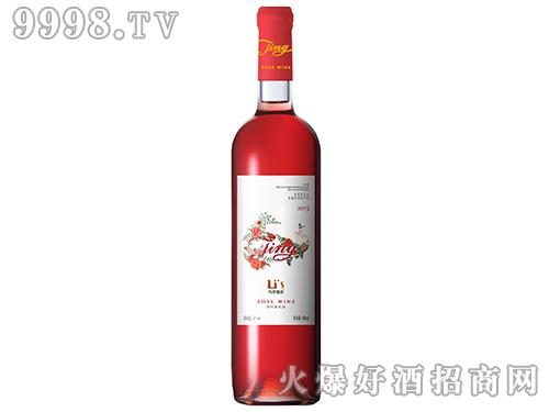 利思TING半甜桃红葡萄酒