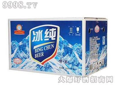 嘉铜冰纯啤酒330ml×24