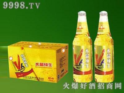 优质品牌小瓶小麦啤酒330ml