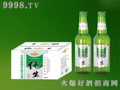 青岛海特纯生啤酒330ml
