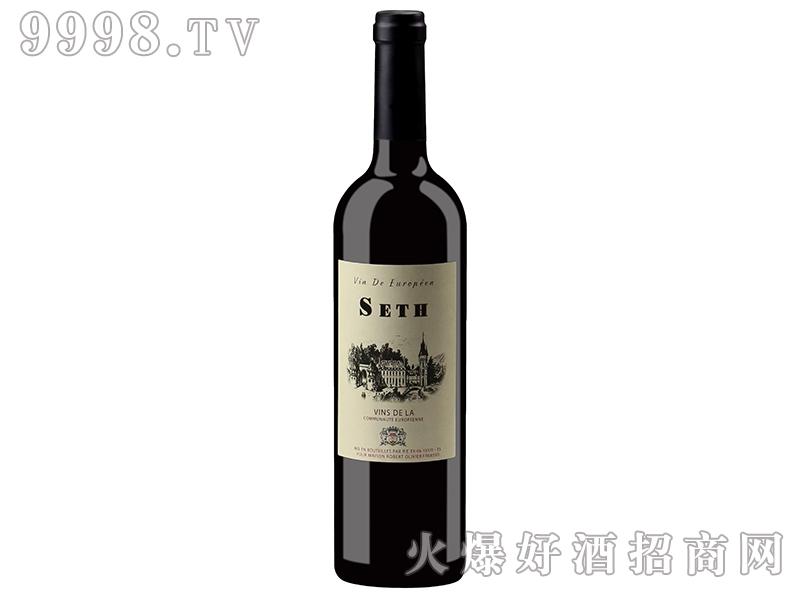 法国赛思干红葡萄酒