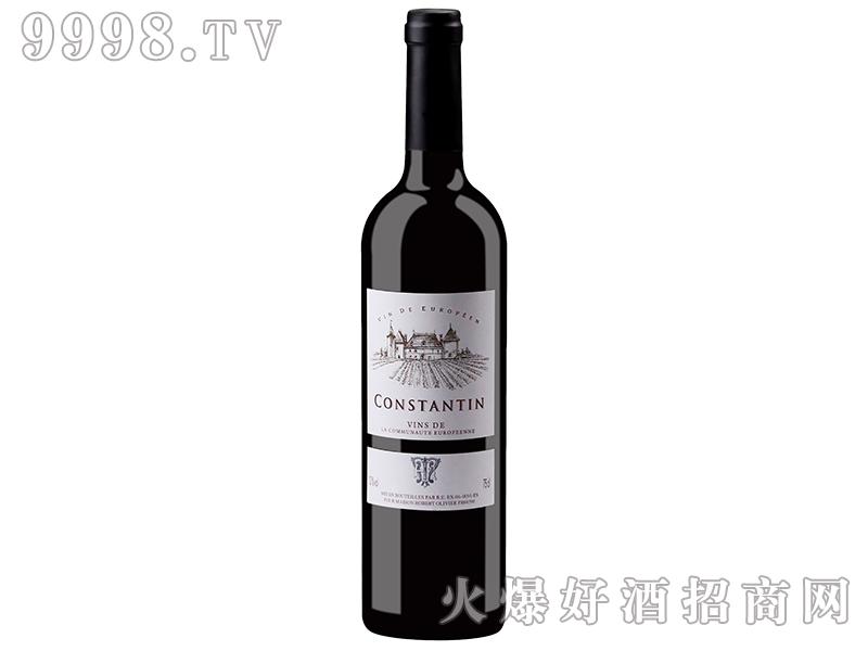 法国康斯坦丁干红葡萄酒