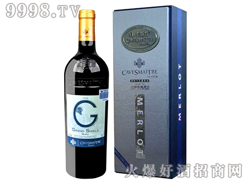 卡斯特・格朗士美洛干红葡萄酒(老盒)