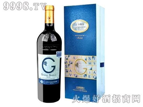 卡斯特・格朗士美洛干红葡萄酒(新盒)
