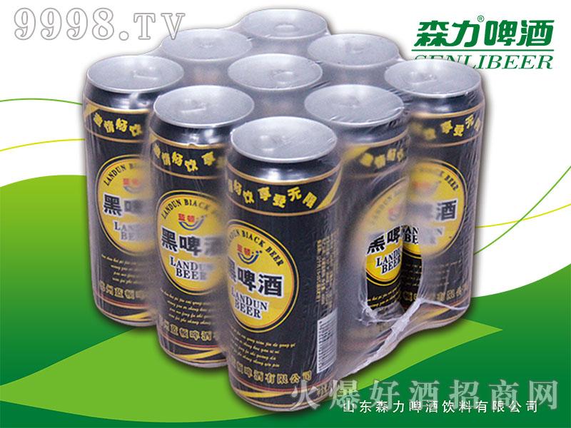 森力蓝顿黑啤酒500mlX9罐
