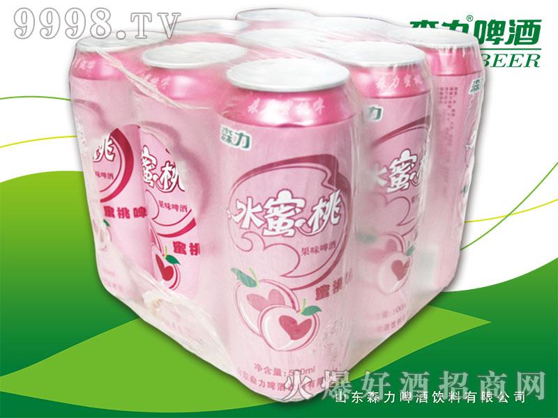 森力水蜜桃果啤320mlX9罐