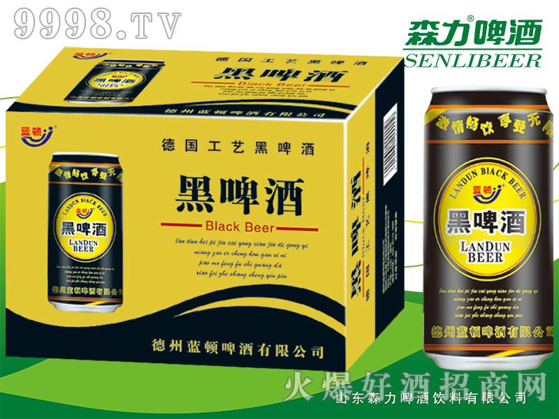 森力黑啤酒(红罐)500mlX12