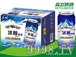 蓝羽冰醇啤酒320mlX12罐