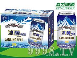 蓝羽冰纯啤酒320mlX24罐