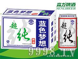 蓝羽超纯啤酒320mlX24罐