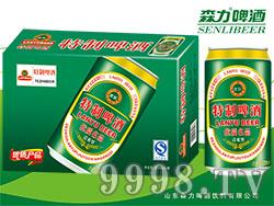 蓝羽特制啤酒320mlX24罐