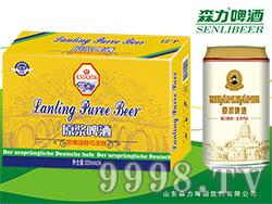 蓝羽原浆啤酒320mlX24罐