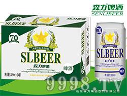森力啤酒320mlX24罐