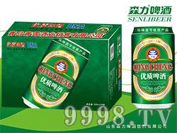 森力优质啤酒320mlX24罐