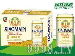 森力原浆小麦啤酒(白罐)320mlX24