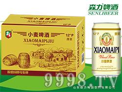 森力原浆小麦啤酒320mlX24罐