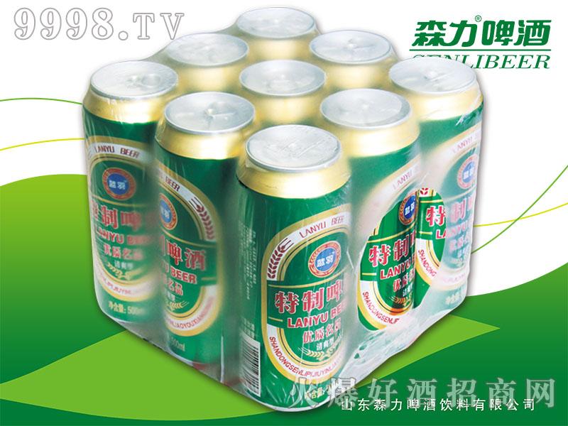 蓝羽特制啤酒500mlX9罐