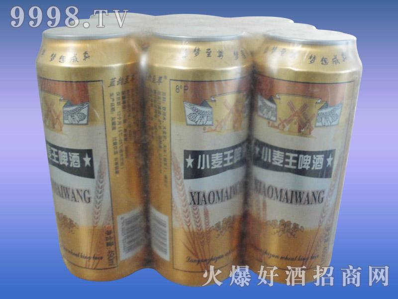 8度蓝韵至尊小麦王啤酒塑包