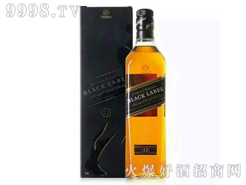 尊尼获加威士忌黑牌