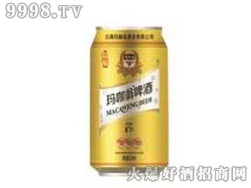 玛咖翁啤酒330ML罐装