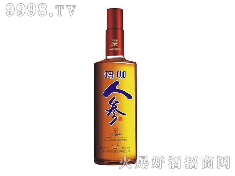 玛咖人参酒500ML