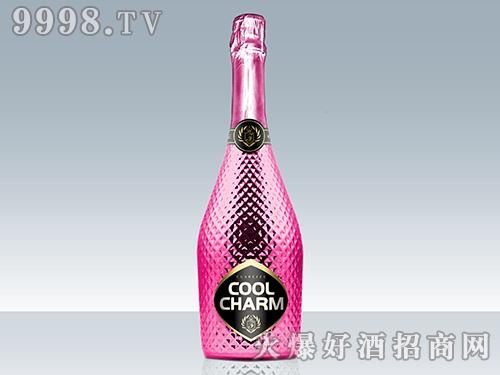 酷魅起泡酒 钻石粉红瓶