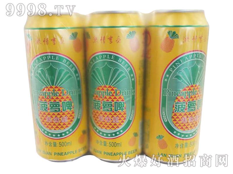 菠萝啤果味型500ml