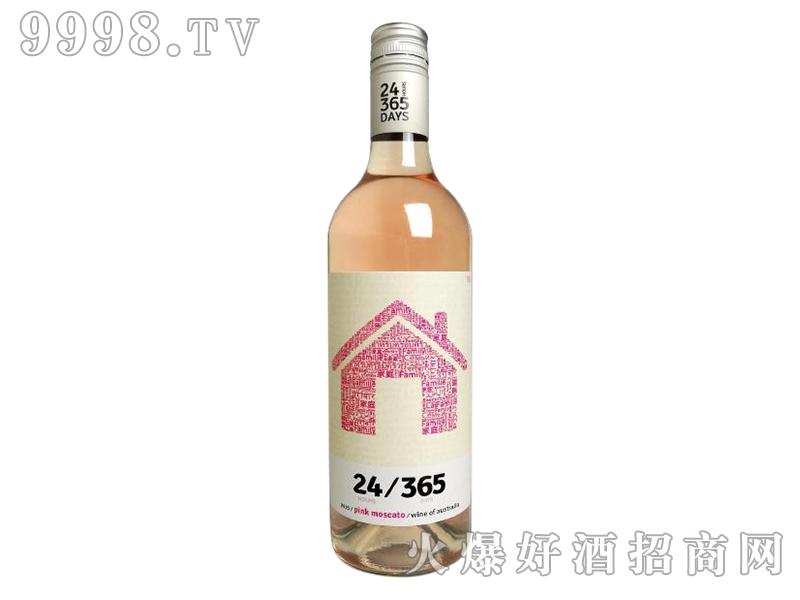米隆庄园24-365莫斯卡托桃红葡萄酒2015