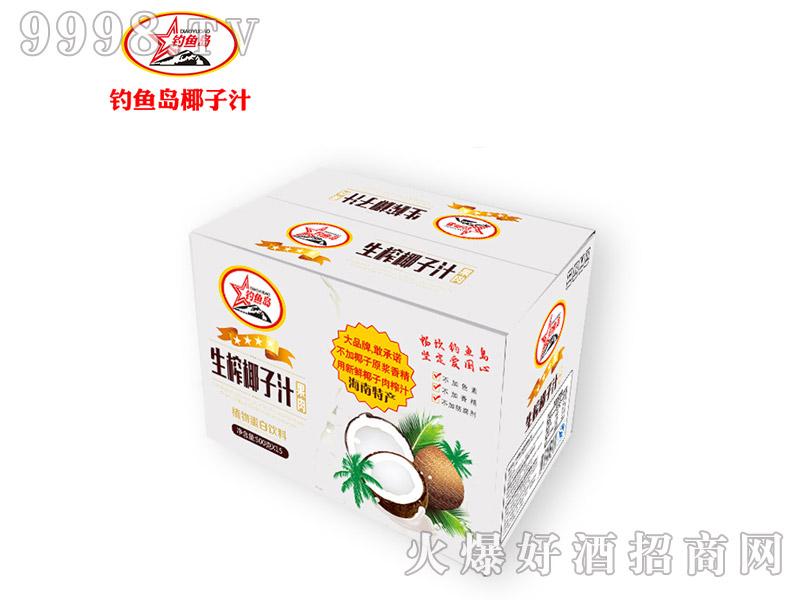 钓鱼岛生榨椰子汁500gx15