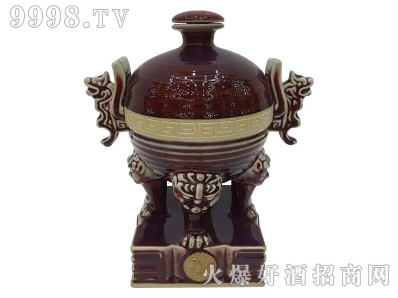 古家百年酒祥龙鼎3斤(有底座)