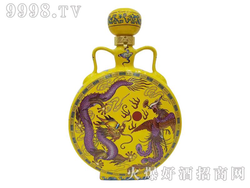 古家百年酒龙凤扁瓶5斤