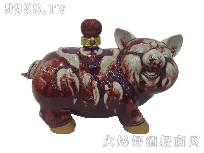 古家百年酒福猪5斤