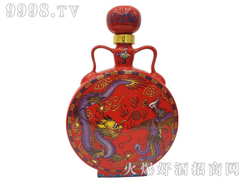 古家百年酒扁瓶5斤