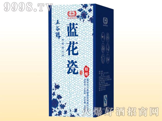五谷醇酒・蓝花瓷特酿